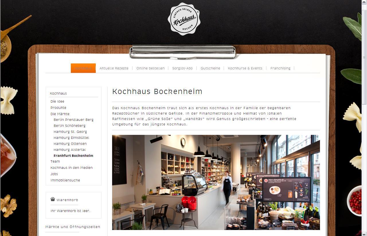 e food blog kochhaus das begehbare rezeptbuch. Black Bedroom Furniture Sets. Home Design Ideas